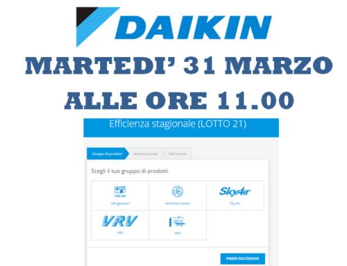 SITO DAIKIN: strumenti di progettazione e sistemi ad espansione diretta – WEBINAR 31 MARZO